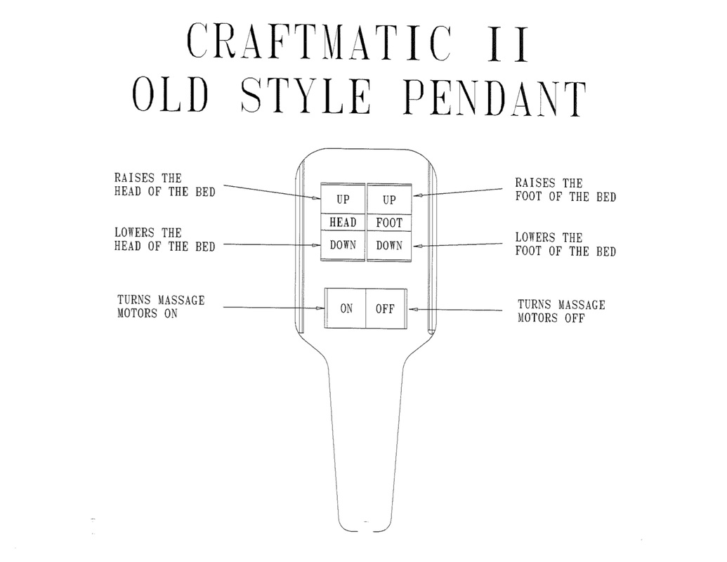 Craftmatic Remote